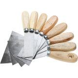 Hohes Polierhilfsmittel-Aufbau-Kitt-Messer mit hölzernem Griff
