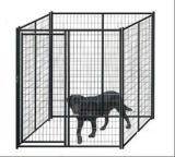 perrera soldada los 6ftx6FT de la corrida del perro del acoplamiento de alambre con la jaula de la azotea/del perro