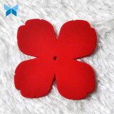 ハイエンド敏感なハンドメイドの赤いゴム製バッジ柔らかいPVCバッジ