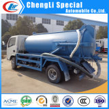 Sale를 위한 5ton Sewer Suction Scavenger Tank 5000L Septic Tank Truck