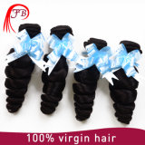 緩い波を持つ人間の毛髪のBarzilianの加工されていなく安いバージン