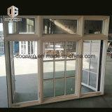 Sólido branco americano de madeira janela aberta do Virabrequim