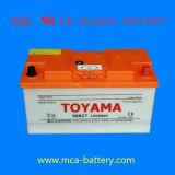 standard caricato asciutto accumulatore per di automobile di buona qualità 12V120ah JIS
