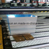 Feuille en aluminium pour la pédale de véhicule