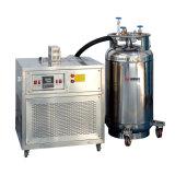 L'azote liquide de refroidissement pour l'impact Testeur de chambre