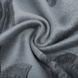 cor do cinza de Pashmina das mulheres do tamanho de 190*80cm grande