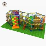 Campo da giuoco dell'interno dei bambini per il tipo dell'interno fabbrica Dir di formato della strumentazione di combinazione del parco di divertimenti dei bambini dei giocattoli delle possibilità di formazione di idoneità fisica di Shaoguan