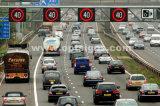 Signe d'étalage de vitesse du panneau d'affichage de vitesse de route de circulation DEL