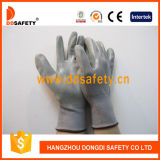 Ddsafety 2017 13 Gauge Nylon Polyester Shell Grey Nitrile Coated Working Guant