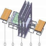 Chaîne de production stratifiée par mélamine courte automatique de cycle pour des forces de défense principale