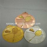 Medalhas feitas sob encomenda da concessão do ouro da competição dos esportes do Pingpong do metal