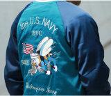 Пользовательские моды вышитый реверсивный сувенирный Satin-смертник взорвал куртки оптовая торговля