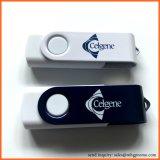 Поворотное устройство памяти USB Stick 16ГБ 2.0 красочные флэш-накопитель USB