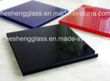 8mm Grey Elevator Wall Tempered Glass