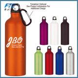 Bouteille d'eau de l'aluminium 500ml ou 600ml en aluminium fait sur commande de bouteille