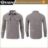 11colores Esdy Battlefield Soft Shell Camisa Hombres camiseta táctico