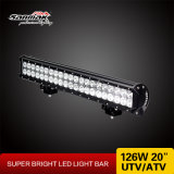 """20"""" 126 W de elevada saída 4X4 Offroad Barra de luz LED CREE"""