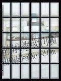 Finestra di alluminio Windows di alluminio francese della stoffa per tendine