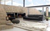 Sofá de cuero moderno para los muebles de la sala de estar con el sofá moderno