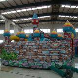 Castello rimbalzante Colourful gonfiabile divertente