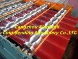 기계 물결 모양 기계 가격 기계를 만드는 물결 모양 지붕 장을 형성하는 윤이 난 도와 롤