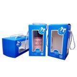Beber la botella de cristal personalizado Embalaje con asa