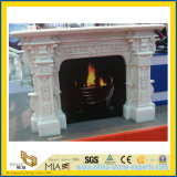 Indoor Decoration를 위한 화강암 Stone Carved Fireplace