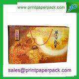 Anunciou sacos de papel impressos do presente da compra para Mooncake/chá