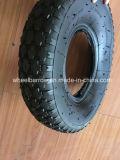 3.00-8 Pneumático de borracha pneumático do Wheelbarrow com câmara de ar interna