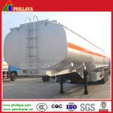 3 camion di serbatoio dell'acciaio inossidabile degli assi 50000L con semi il rimorchio