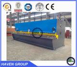 Máquina de corte da guilhotina QC11Y-10X2500 hidráulica, máquina de estaca da placa de aço