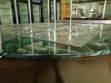 Type rond de marbre barre frigorifiée par salade