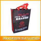 Imprimées en noir Shoping sacs non tissé (FLO-NW247)