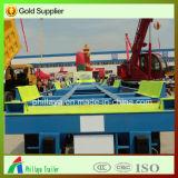 40FT verschepende Container die de Semi Aanhangwagens van de Haven van het Type van Skelet Vervoer