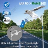 luz de la pared de la noche del sensor solar 100W para la iluminación al aire libre