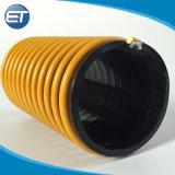 Décharge d'aspiration en spirale en PVC / flexible de drainage pour l'eau de sable de mine