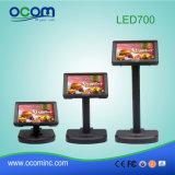 Средства массовой информации POS светодиодный дисплей покупателя для POS Pole терминала (LED700)