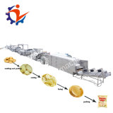150kg por hora a linha de produção de batatas fritas congeladas
