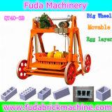 機械に移動式煉瓦メーカー機械をするブロック