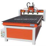 Router funzionante di CNC di taglio dell'incisione del legno cinese approvato del Ce con rotativo per la mobilia di Manking