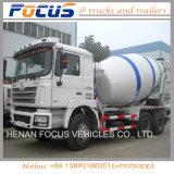 알맞은 가격 Shacman 12cbm; 구체 펌프를 가진 구체적인 이동 믹서 유조 트럭