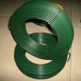 En fil enduit de PVC de couleur différente