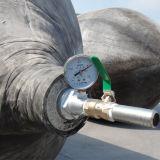 Sacco ad aria di sollevamento di lancio di salvataggio della gomma marina di uso del cantiere navale per la nave