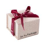 Rosafarbene Farben-feste Papiergeschenk-Schmucksache-verpackenkasten-Fertigung mit Magneten