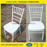 Cadeira de alumínio branca por atacado de Chiavari do hotel