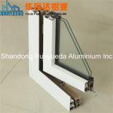 Aluminium extrudé pour les portes de Profil Windows mur rideau de décoration