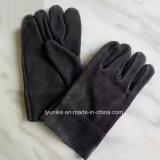 Het Werk van het Leer van de Koe van de Rang van ab de Gespleten Certificatie van Ce van Handschoenen
