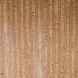Natuurlijk pvc van de Textuur van de Korrel van het Bamboe bedekte Foiled Leer van de Zak met een laag