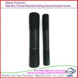 Болт стержня, высокопрочный двойной стержень конца скрепляет болтами DIN 835