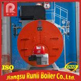 ガス燃焼の水平の包まれた物質的な熱オイルのボイラー